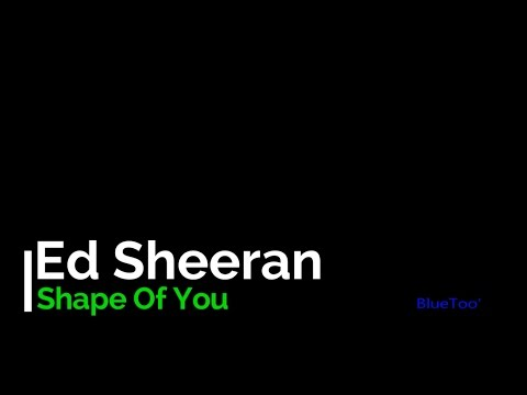 "Lirik Lagu Ed Sheeran "" Shape Of You""  (lyrics)"
