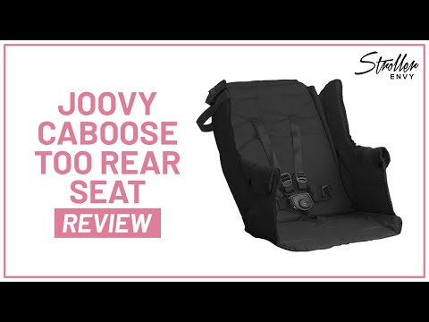 Stroller-Envy Joovy Caboose Too Rear Seat
