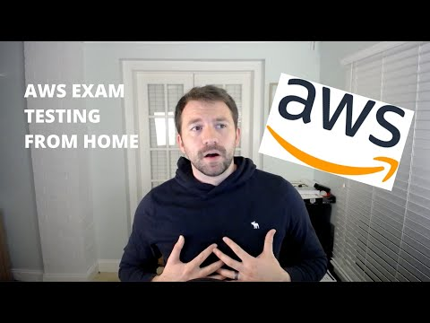 Take ANY AWS Certification Exam FROM HOME - YouTube