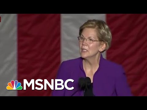 'Enormous Crowd' Gathers At Elizabeth Warren NYC Rally | Morning Joe | MSNBC