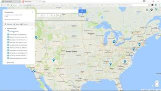 How to Make a Google Map from Excel
