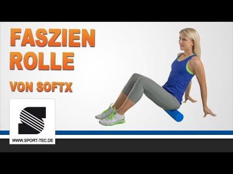 softX® Faszien-Rolle - Übungen, Tipps und Tricks