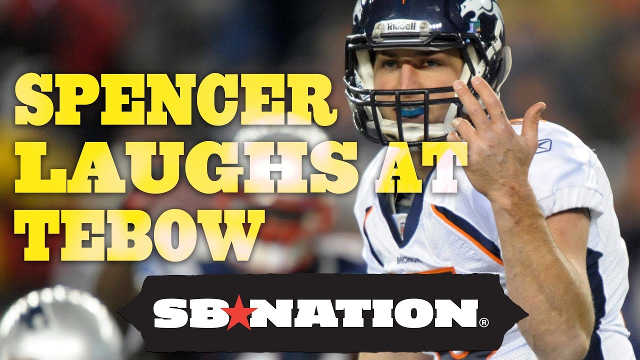 Tim Tebow to Play for Rex Ryan, Spencer Hall Finds it Hilarious thumbnail