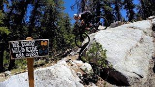 Mr. Toad's Wild Ride   Mountain Biking Saxon Creek Trail In South Lake Tahoe