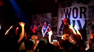 The Word Alive - Wishmaster live in Tucson, AZ 2013