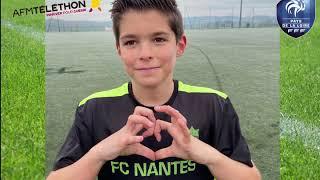 Téléthon 2020 : les jeunes des Sections Sportives donnent du coeur !