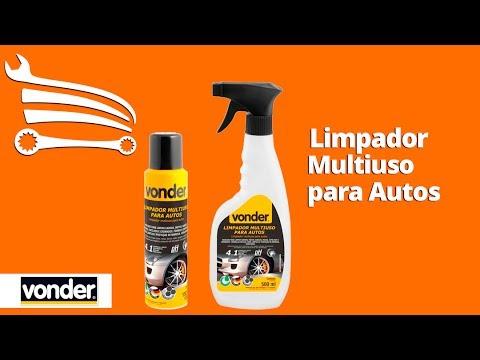 Limpador Multiuso Tipo Pulverizador 4 em 1 Biodegradável 500 ml - Video