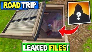 Fortnite: ROAD TRIP SKIN LEAKED INFORMATION! - Wailing Woods Bunker Files Found! Season 5 Storyline!