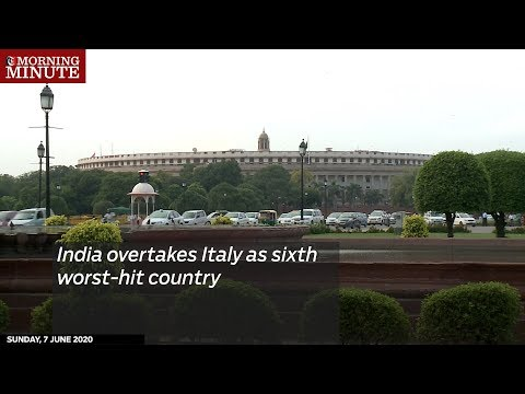 India overtakes Italy as sixth worst-hit country