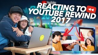Download Youtube: REACTING TO YOUTUBE REWIND 2017 (Niana Hits The Despacito) | Ranz and Niana