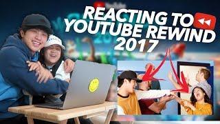 REACTING TO YOUTUBE REWIND 2017 (Niana Hits The Despacito) | Ranz and Niana