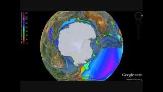Circum Antarctic Plate Tectonics/Growing Earth Reconstructions. Test video. - Video Youtube