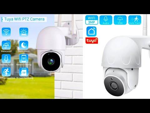 PTZ WiFi камера Tuya с авто отслеживанием PTZ Camera with Auto Tracking