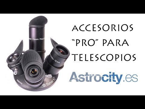 Accesorios PRO para telescopios astronómicos (Parte I)
