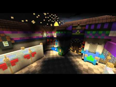 Traverse Town (Kingdom Hearts) Minecraft Project
