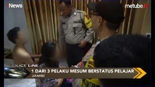 Polisi Amankan Pelajar SMK Mesum dengan Wanita Dewasa di Hotel, Kota Jambi - Police Line 14/07