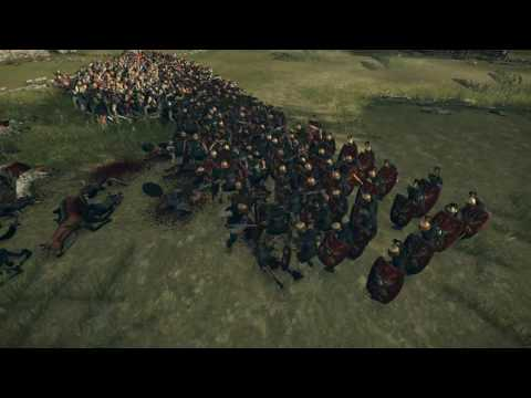 Защита родной деревушки ● НЕРВИИ #25 ● ROME 2 TOTAL WAR