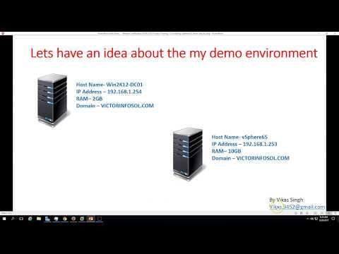 VMware Certification VCP 6.5 - 02 Installing vSphere 6 5 Server ...