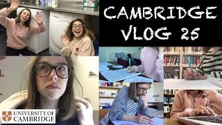 CAMBRIDGE VLOG 25: DEALING WITH AN AVALANCHE OF WORK