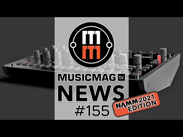 News #155 (новинки NAMM 2021): KORG Drumlogue, Make Noise Strega, Propellerhead Reason+ и др.