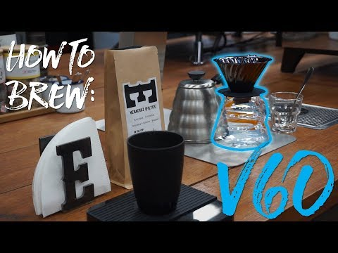 How To Brew Coffee: V60 Dripper! (ft. Extract Coffee Roasters)