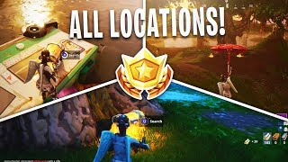 "Fortnite ""Search Chests in Moisty Mire"" ALL LOCATIONS Week 5 Challenge (Fortnite Week 5 Challenges)"