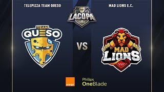 Telepizza Team Queso VS MAD Lions E.C. | Cuartos de final | La Copa 2019 - Playoffs
