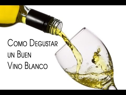 Como Degustar un Buen Vino Blanco