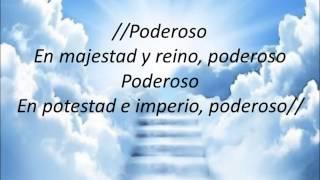 """Sentado En Su Trono """"Jesús Adrián Romero (Letra)"""