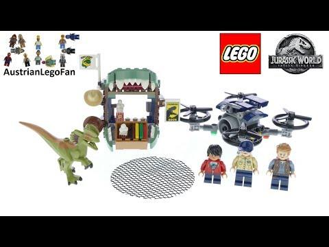 Vidéo LEGO Jurassic World 75934 : Dilophosaure en liberté