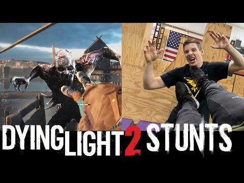 Attempting Dying Light 2 Stunts In Real Life POV