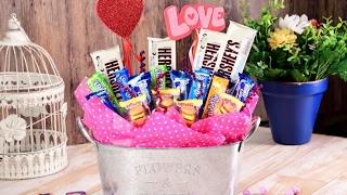 Manualidad | Cómo Hacer Un Candy Bouquet Para San Valentín