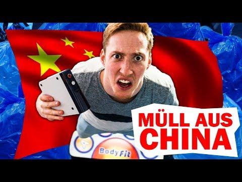 "10€ China Fake ""Wii"" Fit Konsole/Spiele getestet"