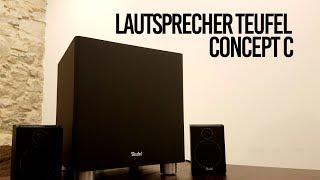 Lautsprecher Teufel Concept C - Unboxing / Kurztest
