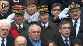 Hommage national: la Marseillaise du Choeur de l'Armée française