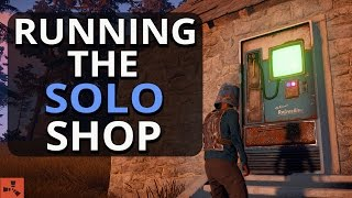 Running The SOLO Player SHOP!! Rust Solo Survival S14 Ep3