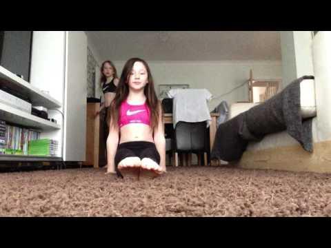 Alphabet gymnastics challenge (not warmed up)