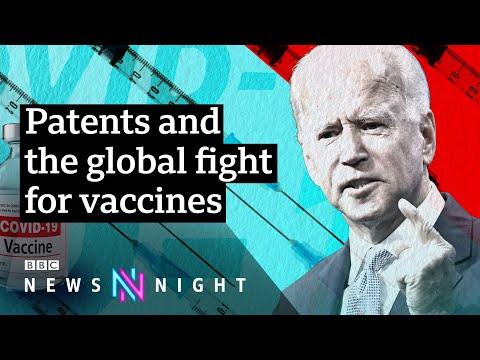Coronavirus: US supports lifting Covid-19 vaccine patents - BBC Newsnight