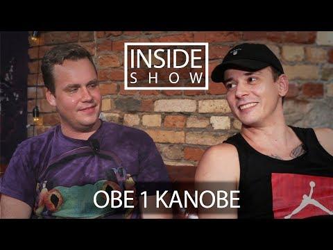 INSIDE SHOW - OBE 1 KANOBE - про VERSUS, дружбу с артистами, Птаху, семью и рэп