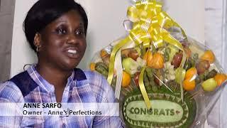 Fruit Carver Displays Unique Skills –Joy Business Van