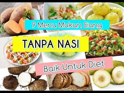 Tips diet : tak makan nasi pun ok.