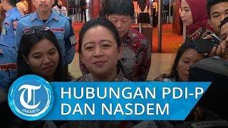 Jokowi dan Surya Paloh Berpelukan, Puan Tegaskan PDI-P dan Nasdem Rukun