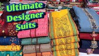 Designer Punjabi Suits Ka भूचाल | ये Hai Asli Party Wear Designer Suits | Ludhiana Wholesale Market