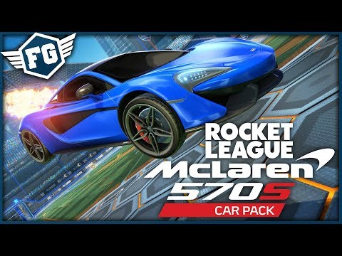 McLaren 570S VE HŘE! - Rocket League