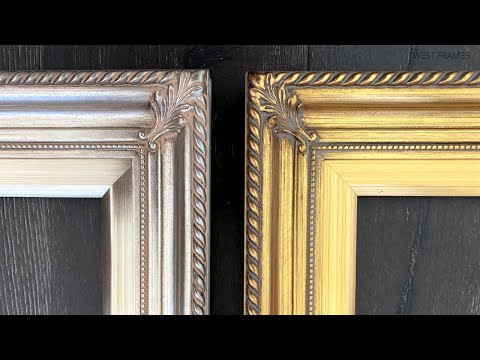 Gatsby Antique Gold Leaf Wood Baroque Picture Frame
