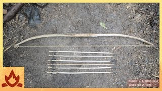 Primitive Technology: Bow and Arrow | Kholo.pk