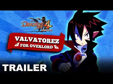 Disgaea 4 Complete+ - Valvatorez For Overlord - Story Trailer (Nintendo Switch, PS4) thumbnail