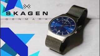 Skagen 233XLTTN Titanium Watch Review- SKU #8077131
