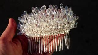 Tutorial: How To Make A Wedding Hair Comb