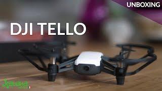 Dron DJI Tello, UNBOXING. increíblemente ligero... difícil de pilotear